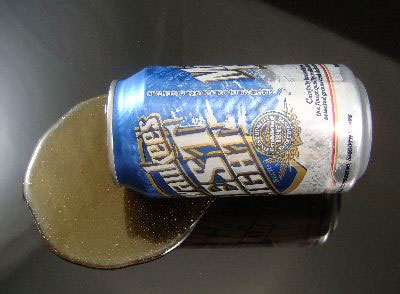 Beer Can Spill